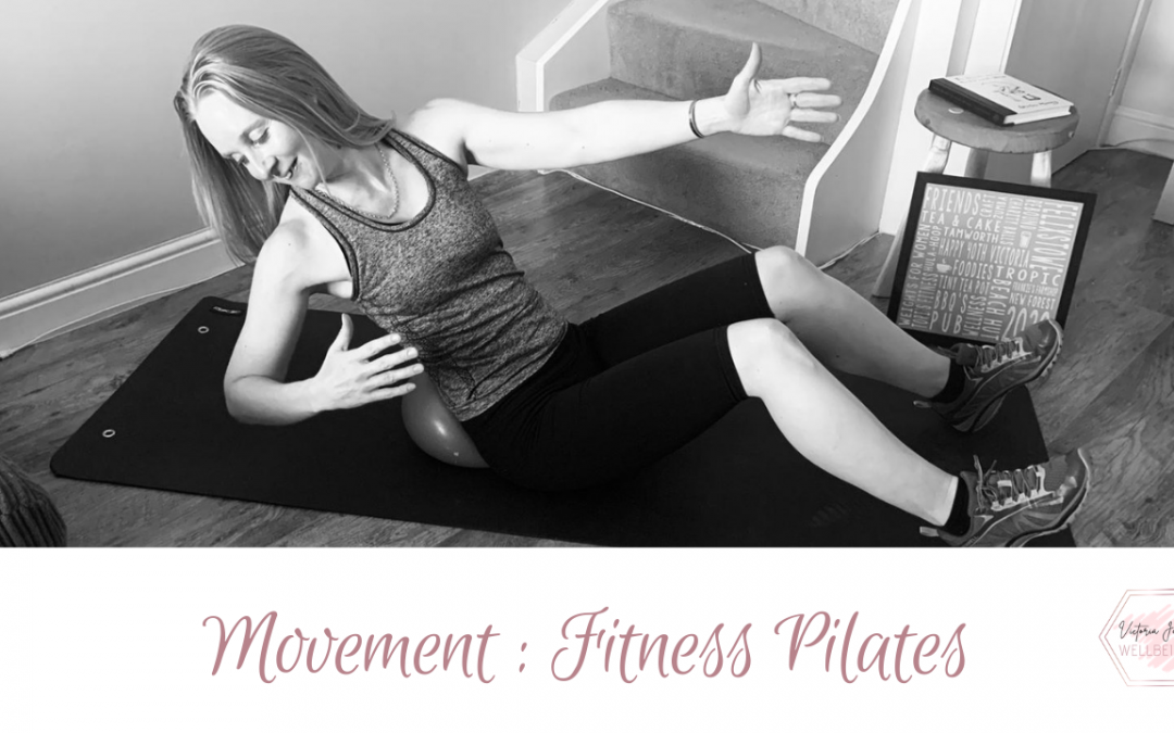 Seated Fitness Pilates Release Flow