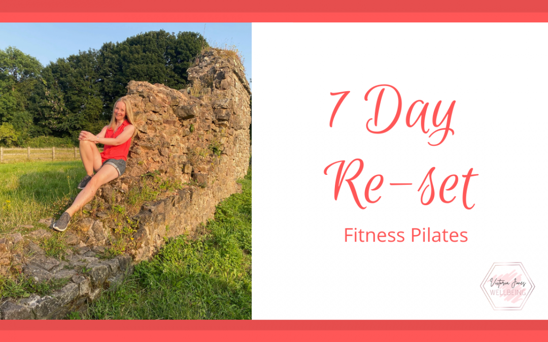 Fitness Pilates 7 Day Re-set